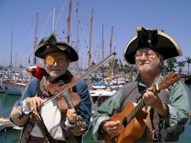 Larry - Capt. Friar - Edwards and Chuck - Capt. Strummer - Preble