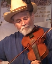 Fiddler Larry Edwards - Julian Fiddle Contest 2015