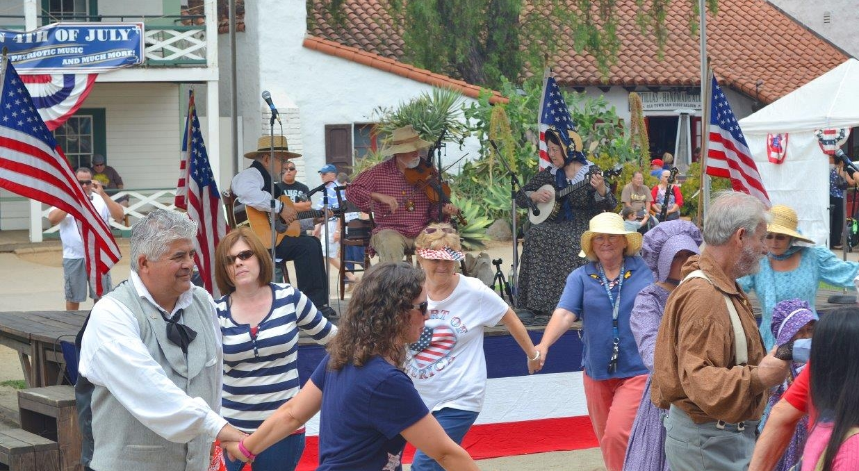 Contra Notion - Old Town San Diego - July 4, 2015